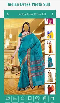 Indian Saree Photo Suit screenshot 1