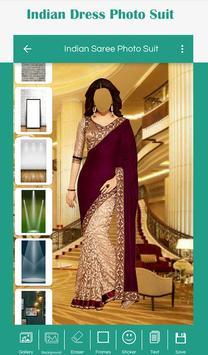 Indian Saree Photo Suit screenshot 2