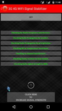 3G 4G Signals Stabilizer Prank screenshot 1