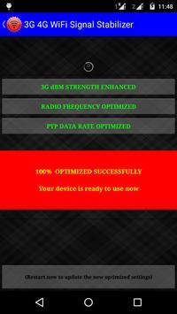 3G 4G Signals Stabilizer Prank screenshot 2