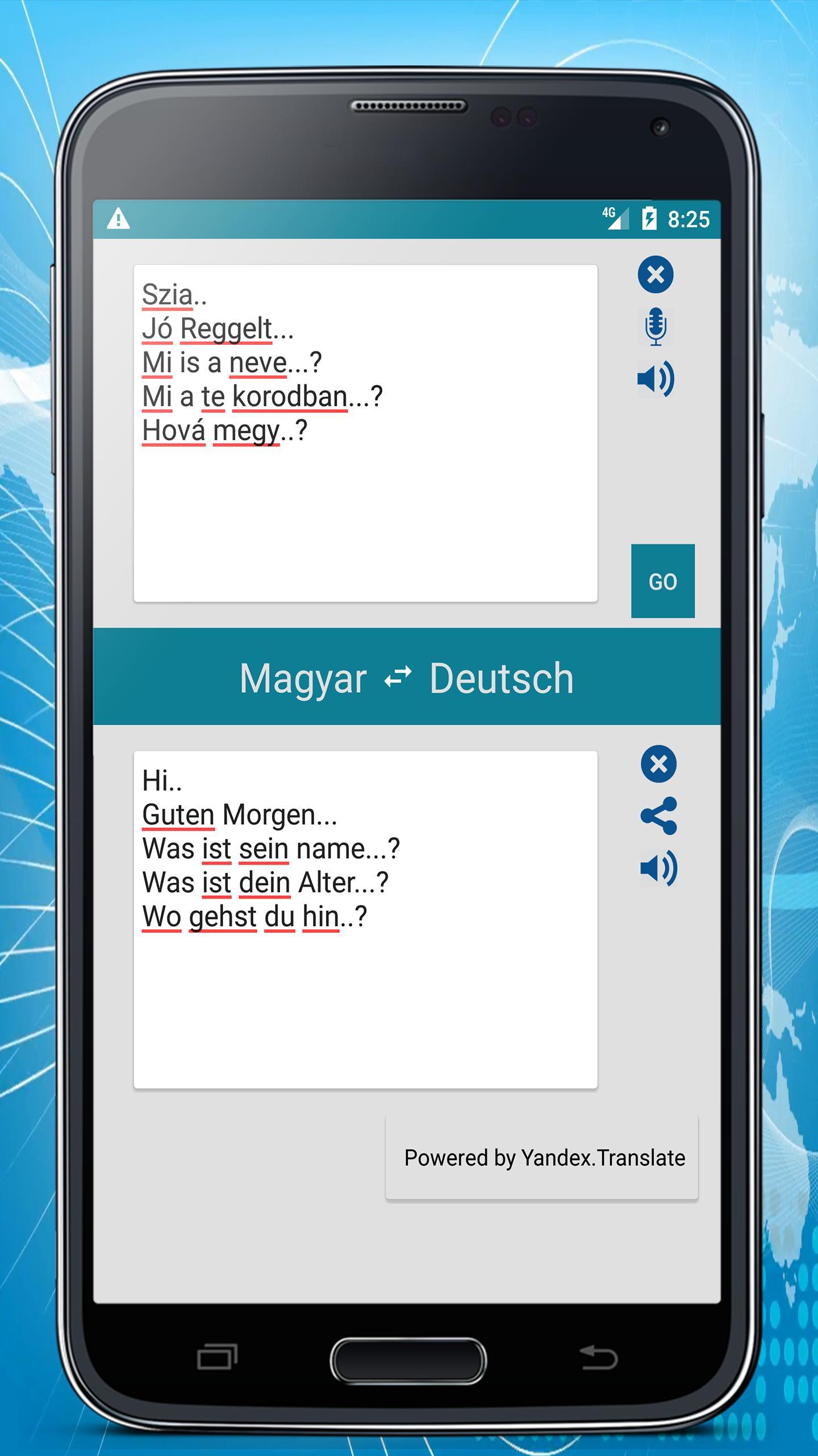 Deutsch Ungarisch übersetzer Für Android Apk Herunterladen