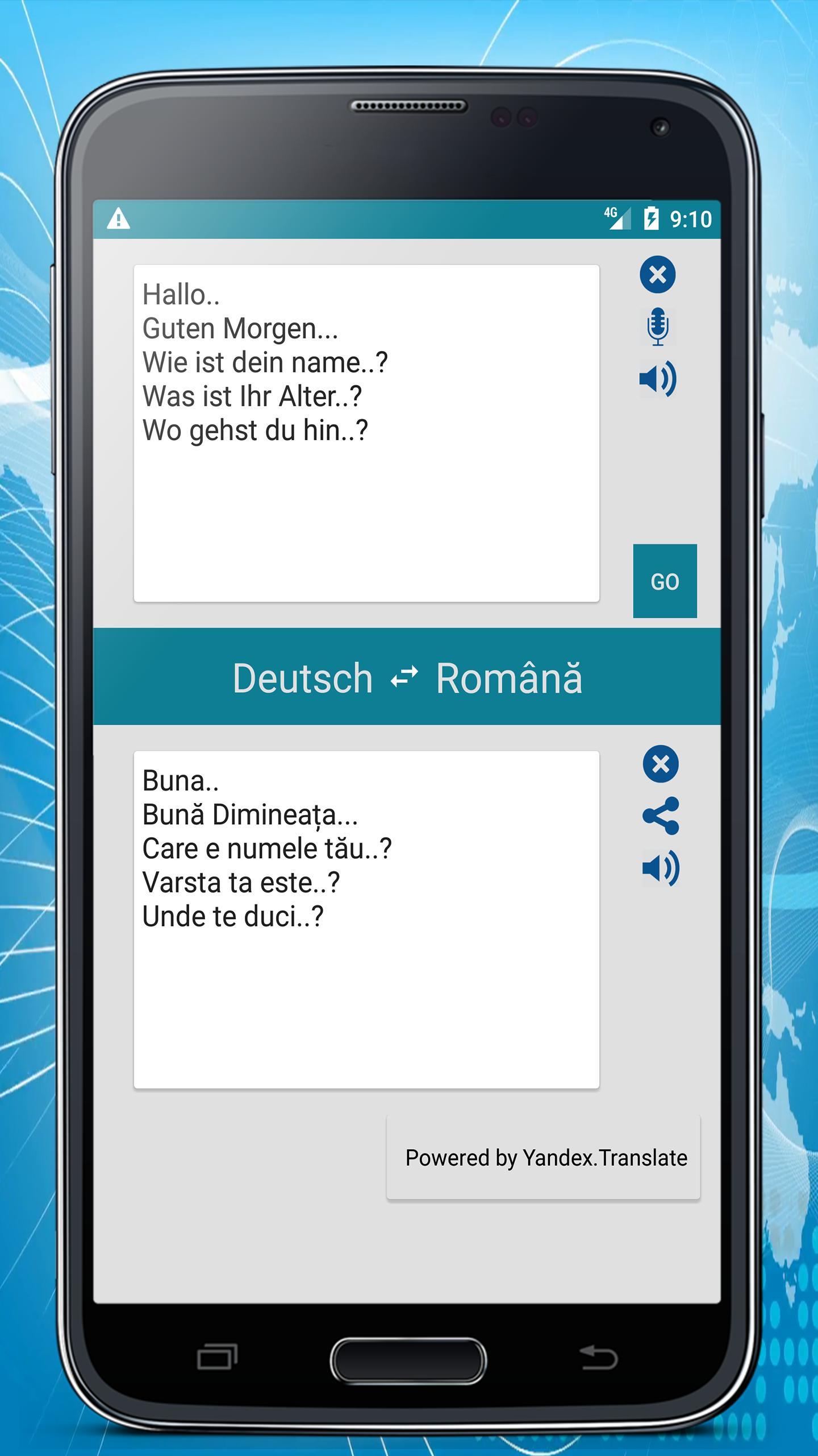 Deutsch Rumänisch übersetzer Für Android Apk Herunterladen