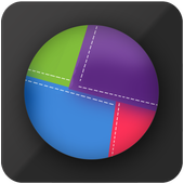 Act & React :Color spinner Pass time relaxing game icon