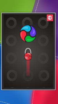 Act & React :Color spinner Pass time relaxing game poster