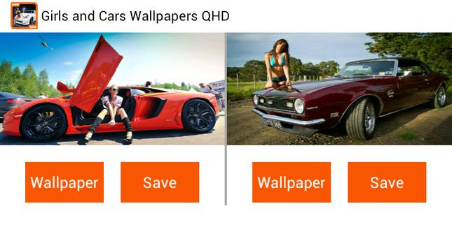 Girls and Cars Wallpapers screenshot 4