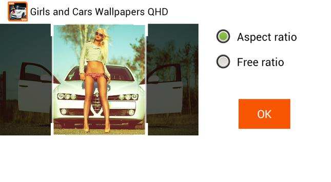 Girls and Cars Wallpapers screenshot 3