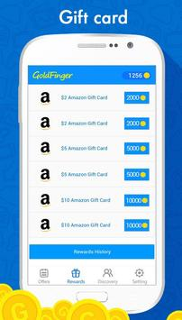 GoldFinger Rewards: Make Money apk screenshot