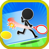 豪快ショット連発!ストレス発散テニスゲーム 「エアK」 icon