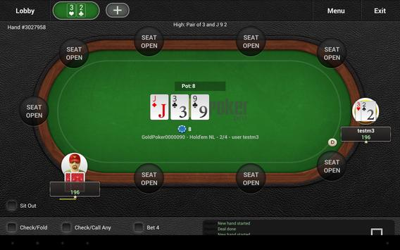 GoldPokerPro apk screenshot