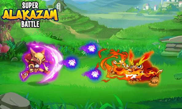 Super Alakazam Battle poster