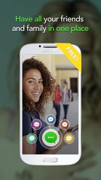 Aloha Messenger-all social apps in one-stop poster