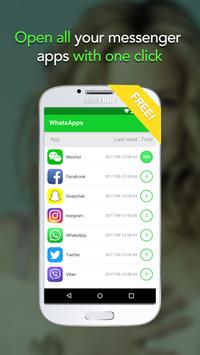 Aloha Messenger-all social apps in one-stop screenshot 1