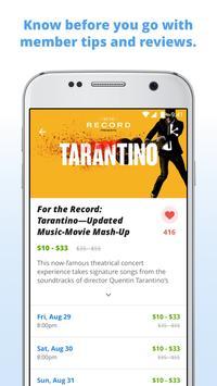 Goldstar: Live Event Tickets apk screenshot
