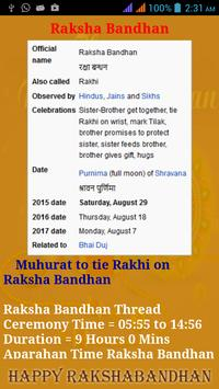 Raksha Bandhan apk screenshot