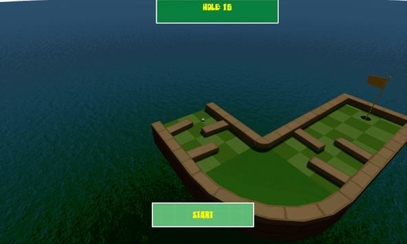 Mini GOLF 3D screenshot 3