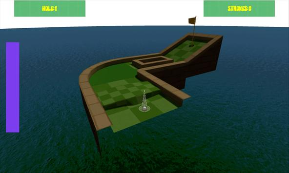Mini GOLF 3D screenshot 2