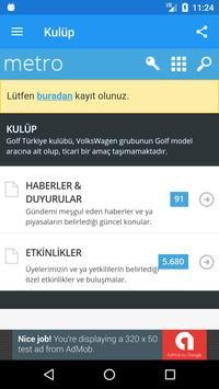 Golf Türkiye screenshot 1