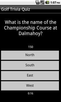 Golf Trivia Quiz apk screenshot