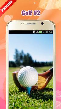 Golf Wallpapers apk screenshot