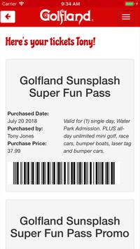 Golfland Sunsplash screenshot 1