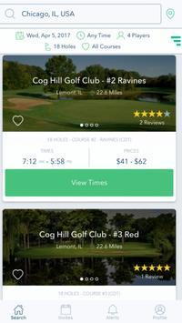 GolfBook screenshot 1