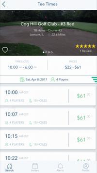 GolfBook Mobile apk screenshot