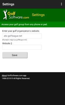Golf Software app by GolfSoftware.com 海报
