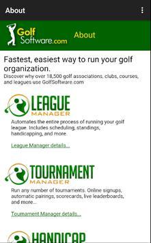 Golf Software app by GolfSoftware.com 截图 4