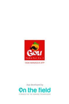 Goli Vada Pav Task Manager- On The Field poster