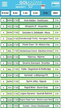 Gol Kazani - Free Betting Tips screenshot 3