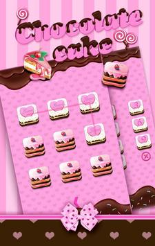 ChocolatecakeTheme AppLockPro poster
