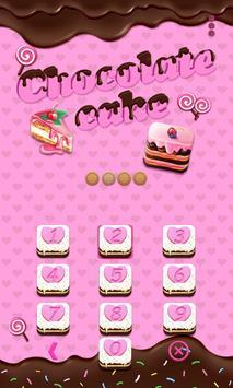 ChocolatecakeTheme AppLockPro apk screenshot