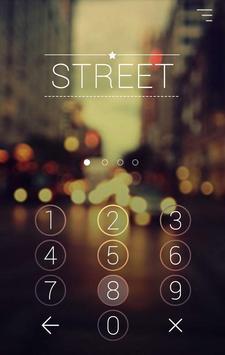 Street Theme-AppLock Pro Theme apk screenshot