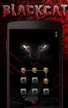 blackcat Theme - AppLock Theme poster