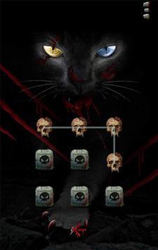 blackcat Theme - AppLock Theme apk screenshot