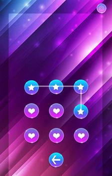 purplegradient Theme -AppLock apk screenshot