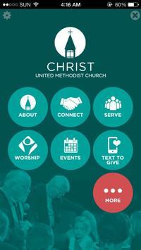 Christ United Methodist Church poster