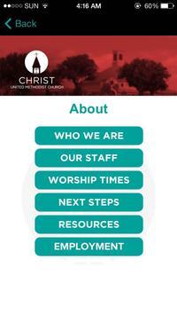 Christ United Methodist Church screenshot 1