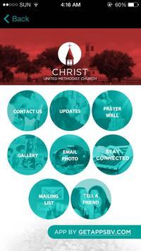 Christ United Methodist Church screenshot 2
