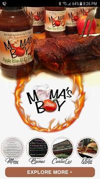 Mama's Boy BBQ poster