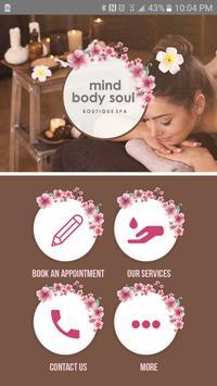 Mind Body Soul Boutique Spa poster