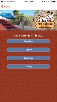 Ponderosa Pet Resort apk screenshot