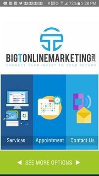 Big T Online Marketing poster