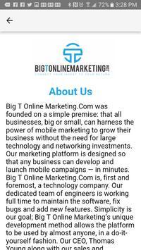 Big T Online Marketing screenshot 2