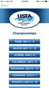 USTA Georgia League Chps screenshot 2