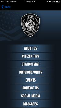 Youngsville Police Department apk screenshot