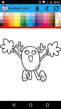 Gom Ball Coloring Game Apk Screenshot