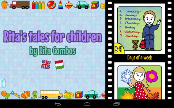 Rita's tales for children apk screenshot