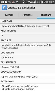 OpenGL ES 3.0 Shader captura de pantalla 2