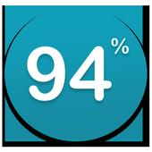 94 percent Association icon